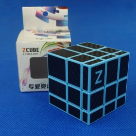 Z-Cube Mirror Black Stickers