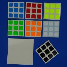 Naklejki 3x3x3 F/S 54,5mm