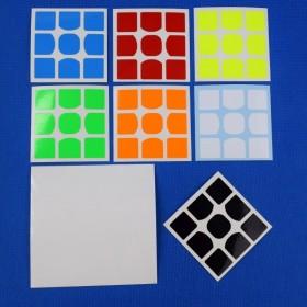Naklejki 3x3x3 WeiLong GTS