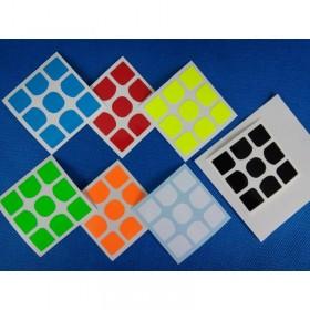 Naklejki 3x3x3 Yuxin