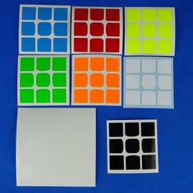 Naklejki 3x3x3 WeiLong GTS v2