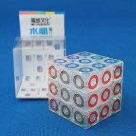 MoFangJiaoShi 3x3x3 Crystal Ring