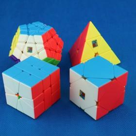 MoFangJiaoShi Zestaw Pyraminx + Megaminx + Square-1 + Skewb