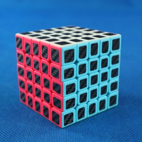 Cube Style 5x5x5 BenTeng Small Carbon Stickers
