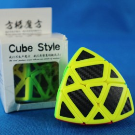 Cube Style Mastermorphix Carbon Stickers