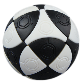 mini 2 colors football magic cube