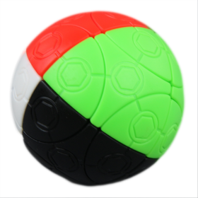 mini 4 colors football magic cube