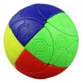 4 colors football magic cube