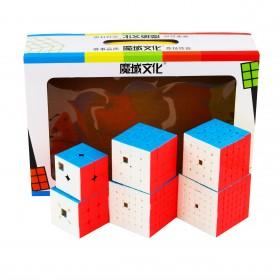 MoFangJiaoShi Zestaw 2x2-7x7
