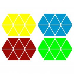 Naklejki Pyraminx Universal