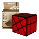 YJ 3x3 Windmill Cube with wire drawing stickers