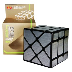 YJ 3x3 Fisher Cube with wire drawing stickers
