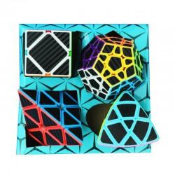 Z-Cube  Four Cubes Set - megaminx, skewb, pyraminx, mastermorphix
