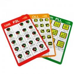 Z-Cube CFOP Card