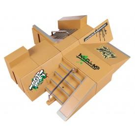 Fingerboard + Skatepark
