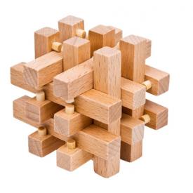 Drewniana łamigłówka