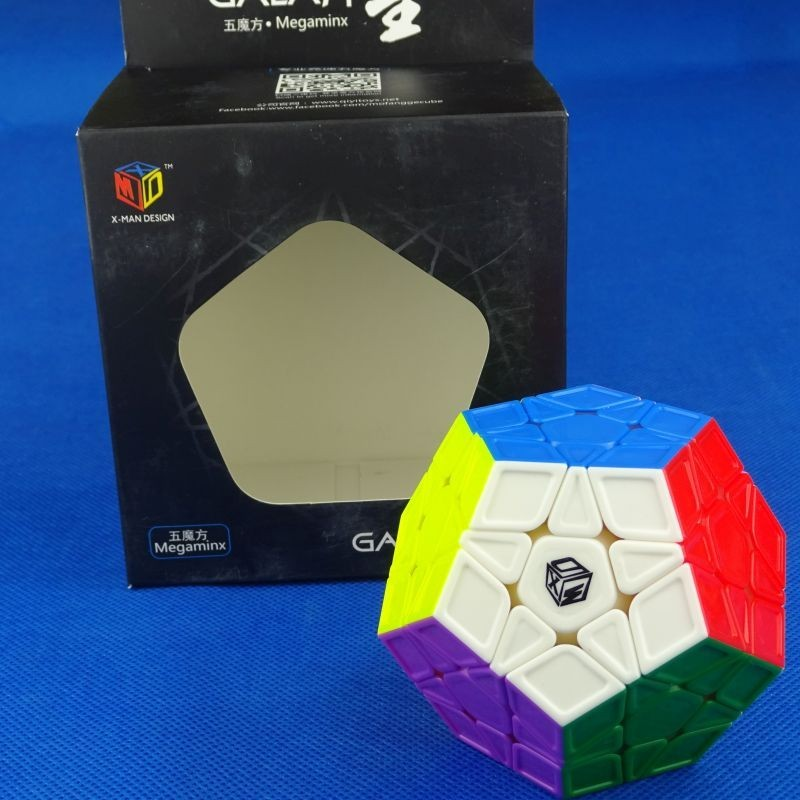 X-Man Design Galaxy Megaminx